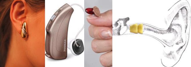 Hightech für erstklassiges Hören kombiniert mit Ästhetik und Unauffälligkeit.